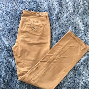 Brushed cotton pants